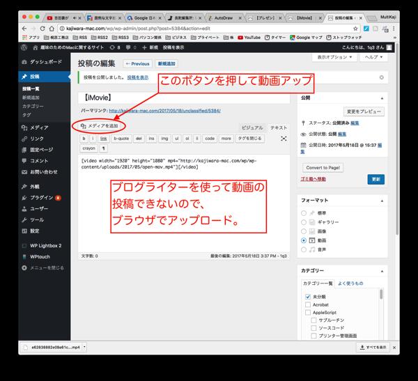 Wordpress douga